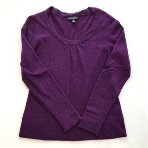 Banana Republic Cashmere Blend Scoop Neck Sweater